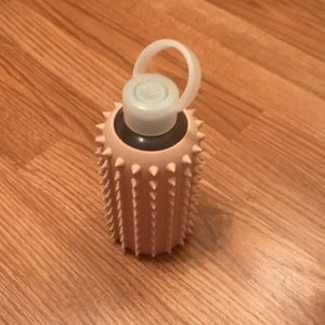 BKR pink spiked water bottle